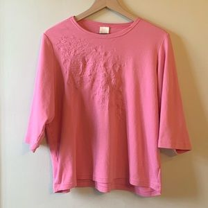 Soft Cotton 3/4 Sleeve Top